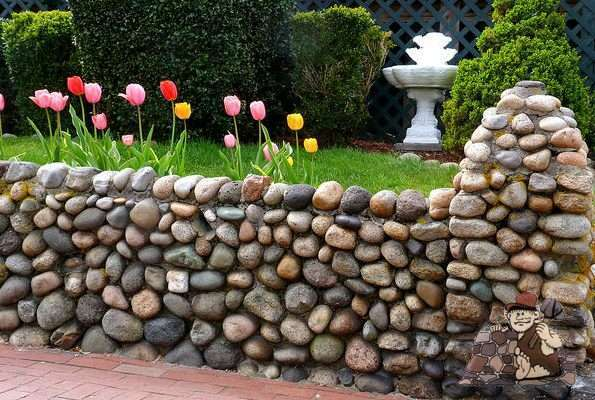 Decorative River Rock Landscaping : Is decorative stone right for your landscaping project