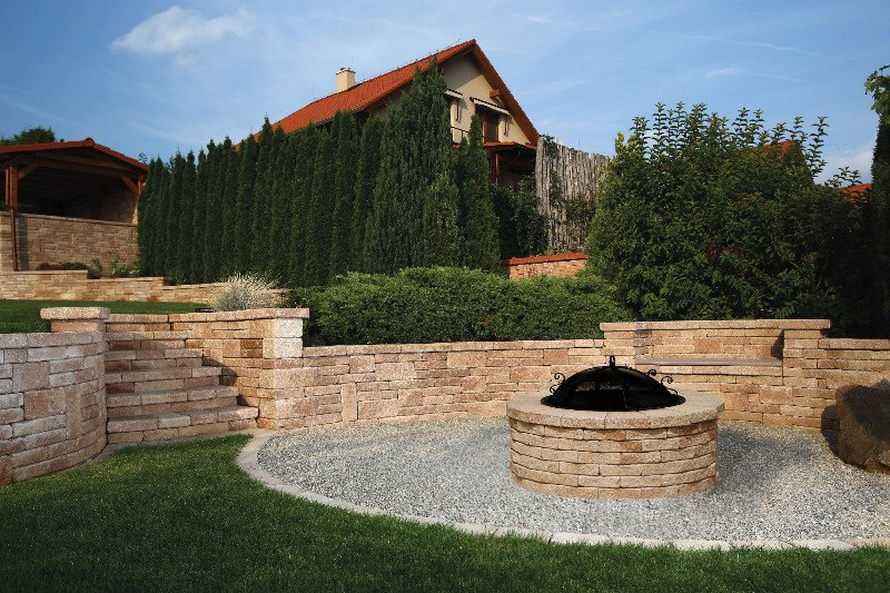 Enjoy the Outdoors with Luxurious Stone Features