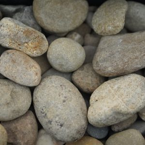 Chocolate Pebbles Large Landscaping Supplies from Field Stone Center Inc. in Covington, GA.