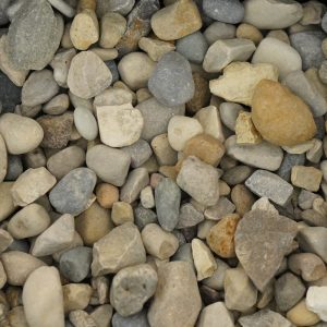 Gray Pea Gravel Med #8 Landscaping Supplies from Field Stone Center Inc. in Covington, GA.