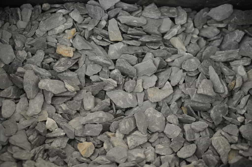 Slate Mini Chips Landscaping Supplies from Field Stone Center Inc. in Covington, GA.