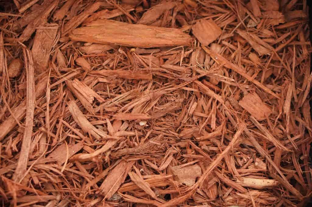 Red Mulch Landscaping Supplies from Field Stone Center Inc. in Covington, GA.