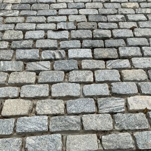 Belgium Cobblestone from Field Stone Center Inc. in Covington, GA.