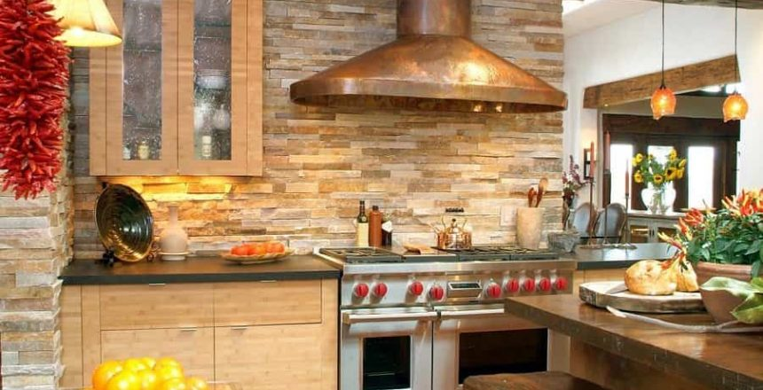 stone-veneer-kitchen-backsplash